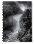 Letchworth In Winter Spiral Notebook