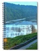 Letchworth Middle Falls Lights Spiral Notebook
