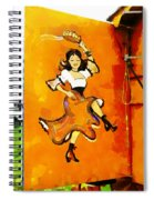 Let's Dance Spiral Notebook