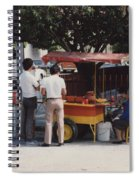 Lets Do Lunch Mexico Series By Tom Ray Spiral Notebook