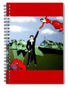 Lets  Fly Away Spiral Notebook