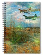 Let's Fly Spiral Notebook
