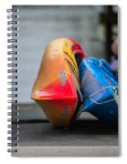 Lets Go Kayaking Spiral Notebook