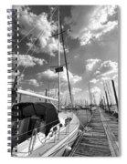 Let's Go Sailing Spiral Notebook