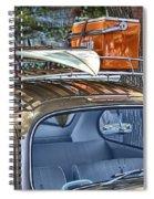 Let's Go Surfing Spiral Notebook