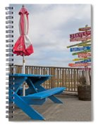 Let's Have A Picnic Jekyll Island Spiral Notebook