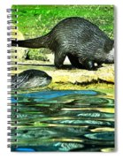 Lets Play And Swim Spiral Notebook