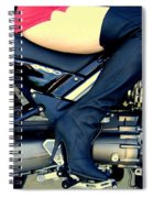 Let's Ride Spiral Notebook