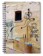 Let's Talk About Nature Spiral Notebook
