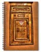 Letter Box Spiral Notebook