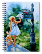 Letter For Nanna Spiral Notebook