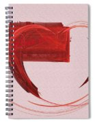Letter From My Heart Fine Fractal Art Spiral Notebook