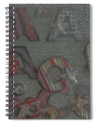 Letters Spiral Notebook