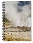 Letting Off Steam - Yellowstone Spiral Notebook