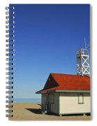 Leuty Lifeguard Station In Toronto Spiral Notebook