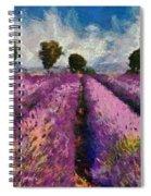 Levender Spiral Notebook