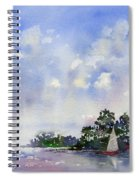 Leeward The Island Spiral Notebook