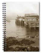Lewis Fish Market Selected Fresh Fish And Swains Fish Market Monterey 1929 Spiral Notebook