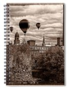 Lewiston Maine Hot Air Balloons Spiral Notebook