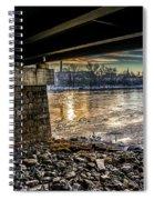 Lewiston Under The Bridge Spiral Notebook