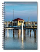 Lexington Harbor With No Boats Spiral Notebook