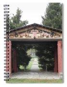 Lheit-li Nation Burial Grounds Entrance Spiral Notebook