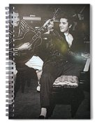 Liberace And Elvis Spiral Notebook