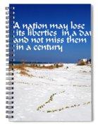 Liberties Spiral Notebook