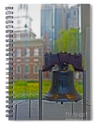Liberty Bell Spiral Notebook