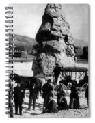 Liberty Cap Yellowstone National Park Spiral Notebook