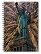 Liberty Fireworks Spiral Notebook