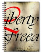 Liberty Freedom Spiral Notebook