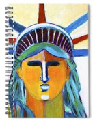 Liberty In Colors Spiral Notebook