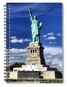 Liberty Island Spiral Notebook