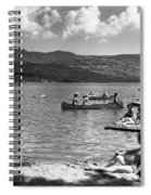 Liberty Lake Summer Leisure In 1940 Spiral Notebook