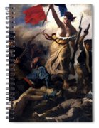 Liberty Leading The People During The French Revolution Spiral Notebook