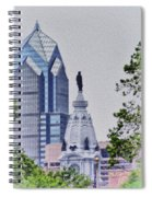 Liberty Place And City Hall Spiral Notebook