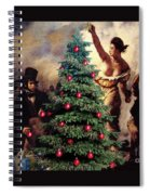 Liberty Places Star On The Tree Spiral Notebook