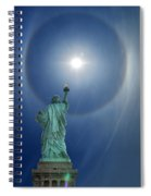 Liberty's Halo Spiral Notebook