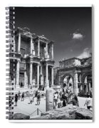 Library Of Celsus - Ephesus Spiral Notebook