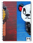License Plate Art Jungle Animals Series 1 Spiral Notebook