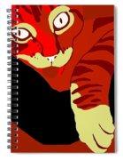Lick Red Spiral Notebook