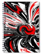 Licorice With Red Cherry Spiral Notebook