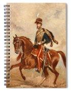 Lieutenant Colonel James Thomas Brudenell  Spiral Notebook