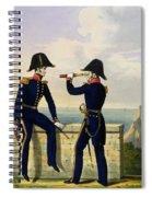 Lieutenants, Plate 1 From Costume Spiral Notebook
