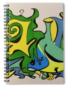 Life At The Beach Spiral Notebook