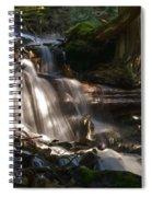 Life Begins To Flow Spiral Notebook