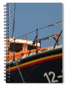 Life Boat Spiral Notebook
