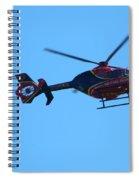 Life Flight Spiral Notebook