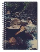 Life Flows On Spiral Notebook